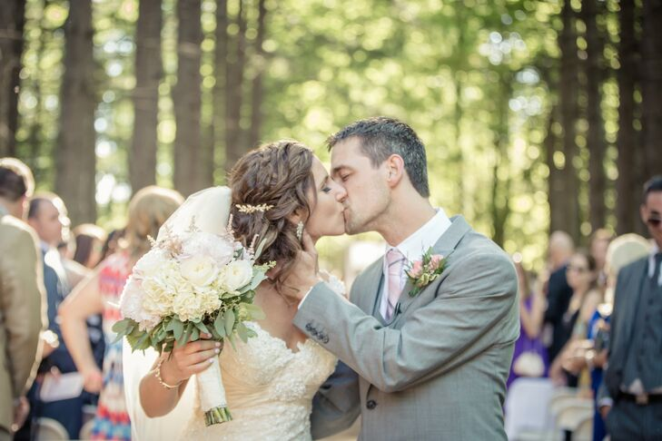 Adrienne and Collin First Kiss at Stony Creek Metropark
