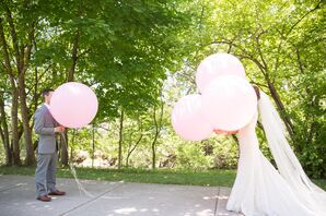 Collin and Adrienne Balloon First Look