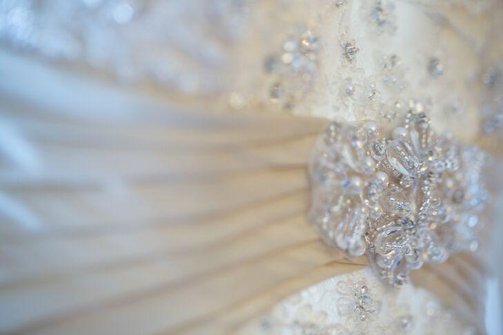 Beaded Wedding Dress Sash
