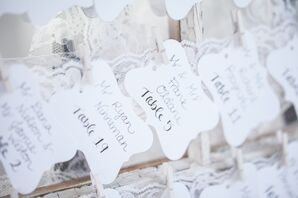 DIY Table Assignment Cards
