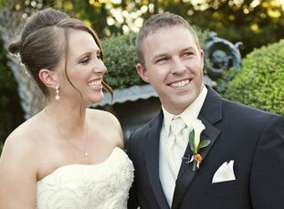 The Bride Lauren Mills, 27, an event manager at George P. Johnson The Groom Kolin Sutton, 28, a sales manager at Rush Enterprises Inc. The Date Octobe