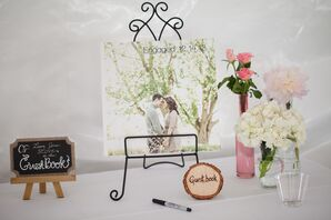 DIY Picture Guestbook