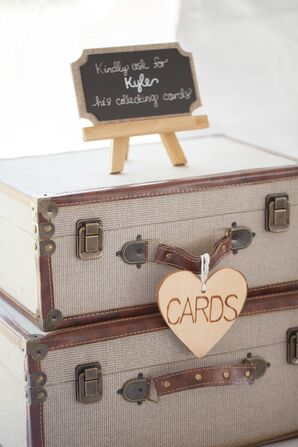DIY Rustic Card Holder