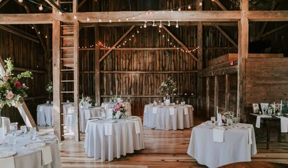 The Barn At Wolf Creek Reception Venues Copley Oh