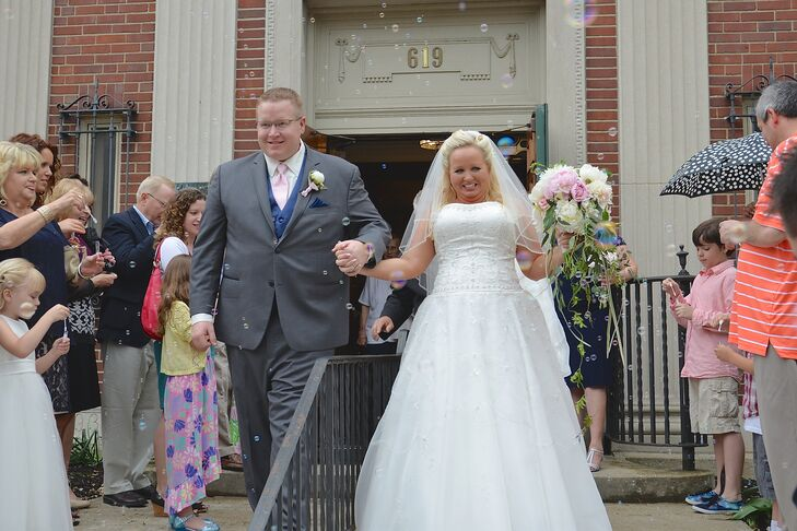 Bubble Recessional at Duncan Hall in Lafayette, Indiana