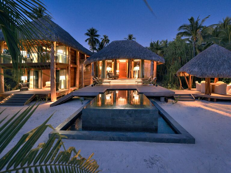 Tahiti Beach Resort Honeymoon Bungalow With Private Pool