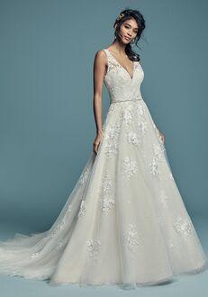 Maggie Sottero Meryl Lynette A-Line Wedding Dress
