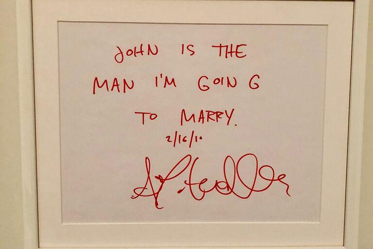 john mulaney wife sign