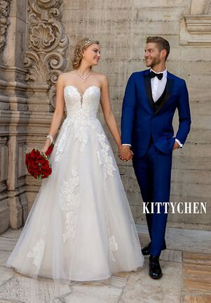 KITTYCHEN AGATHA, H2040 A-Line Wedding Dress