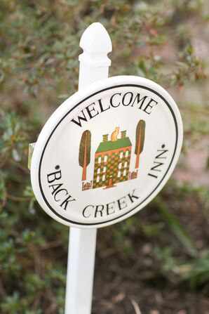 Venue Welcome Sign