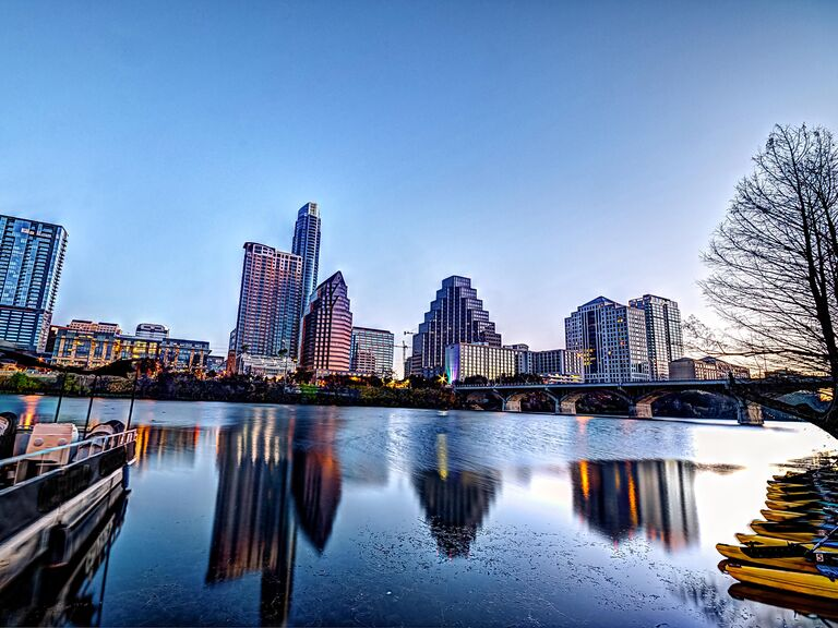 Austin Texas honeymoon destination
