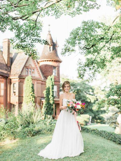 Henderson Castle Inn Wedding Ceremony - Reception Venue