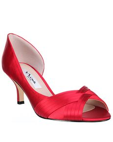 Nina Bridal Contesa Red Shoe