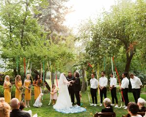 Bohemian Ceremony at Hanley Farms in Central Point, Oregon