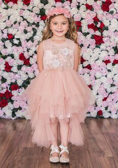 Kid's Dream C203 Ivory Flower Girl Dress