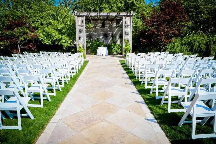 Galleria Marchetti Outdoor Ceremony
