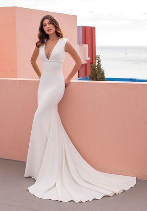 WHITE ONE ESSENTIALS KING Mermaid Wedding Dress