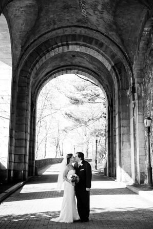 Stone Wall Archway at Fort Tryon Park