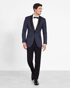 The Black Tux The Tyson Blue, White Tuxedo