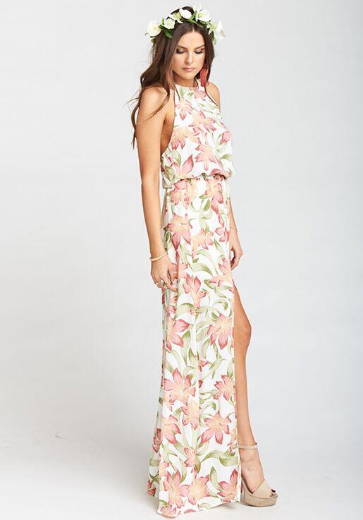 f81feed2b77 Show Me Your Mumu Heather Halter Dress - Lily Lady Halter Bridesmaid Dress