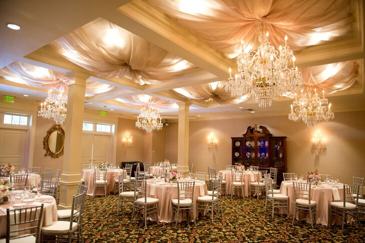 A Glamorous Blush and Gold Reception