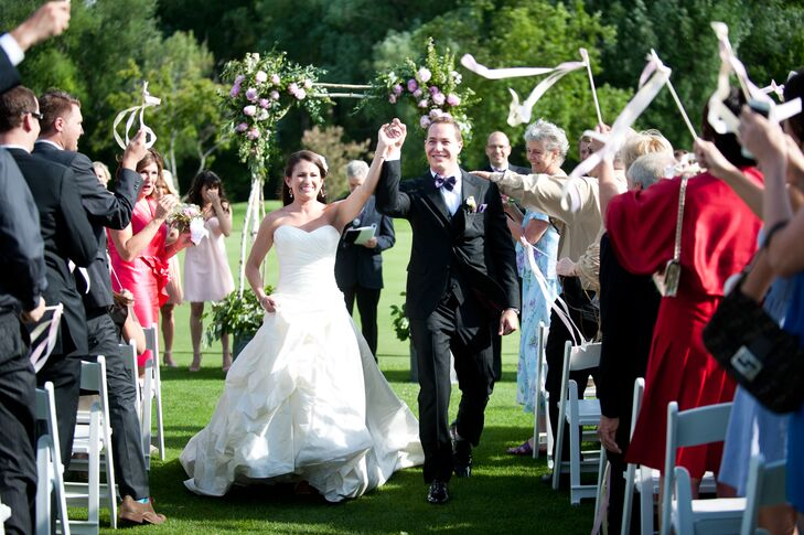 Caitlin and Benjy Recessional