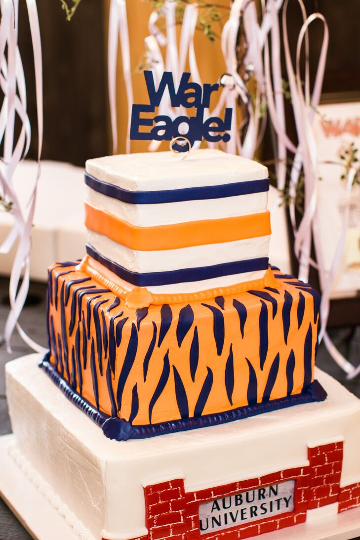 Auburn University Pride Groom's Cake