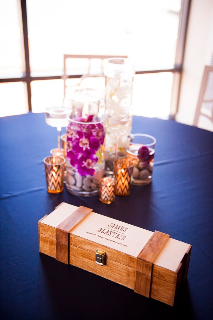 Wood Wine Box, Ceremony Accessory