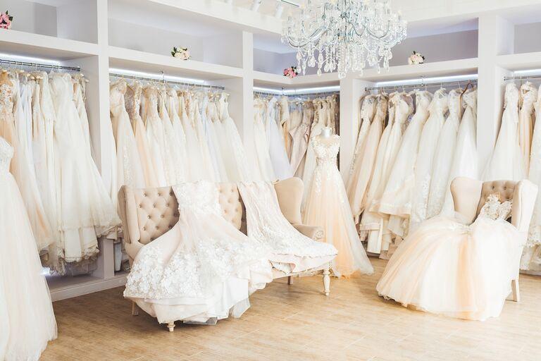 bridal salons wedding dresses layout