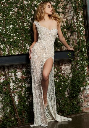 Jovani Bridal S61508 Sheath Wedding Dress