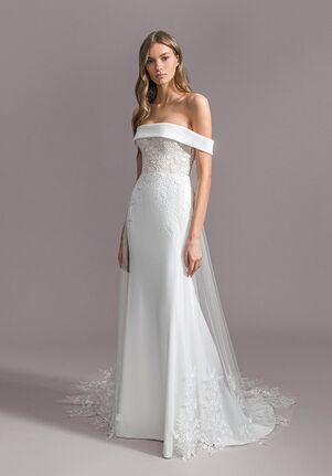 Ti Adora by Allison Webb 7951 Allegra Sheath Wedding Dress