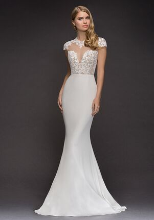 Blush by Hayley Paige 1819-Daisy Sheath Wedding Dress