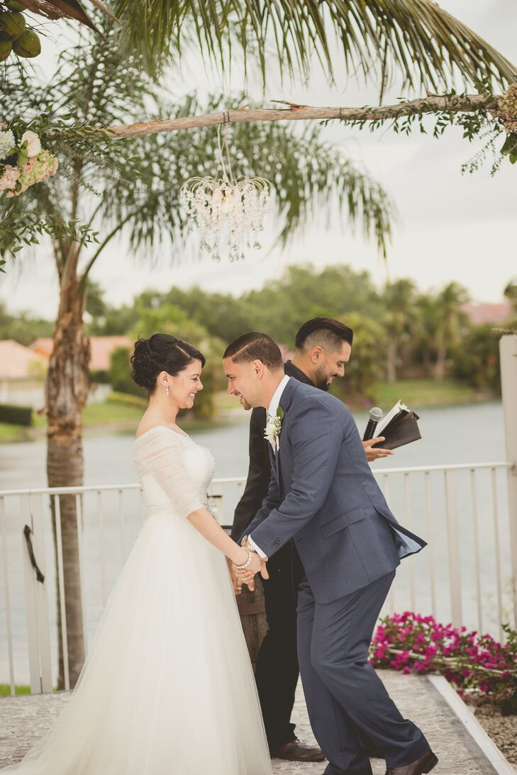 Roxy Velazquez (31 and an administrative assistant) and Rodney Velazquez (40 and a physical therapist) knew they wanted the wedding to reflect them in