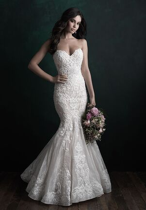 Allure Couture C510 Mermaid Wedding Dress