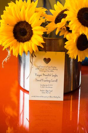 Simple Wedding Invitation with Heart