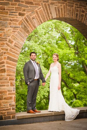 Bride and Groom in Clinton, New York