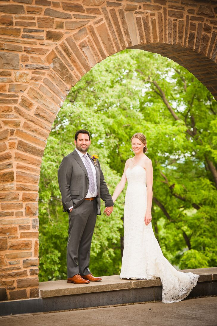College sweethearts Dan and Reagan returned to their alma mater, Hamilton College, for their nuptials, where they exchanged vows in front of 120 guests.
