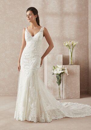 Adrianna Papell Platinum 31154 Mermaid Wedding Dress