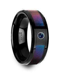 Mens Tungsten Wedding Bands 4055-BCRI Tungsten Wedding Ring