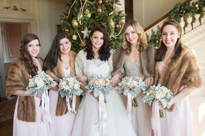 Pastel Bridal Party Attire