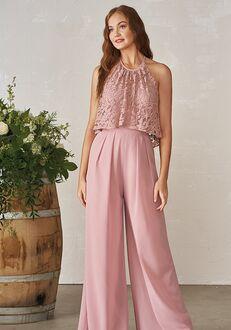 JASMINE P206010 Halter Bridesmaid Dress