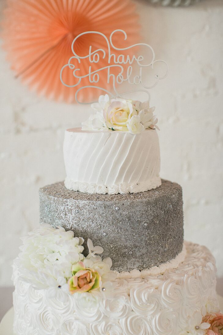 The cake was designed and created by Debbie Carson, a friend of the couple and professional cake baker.