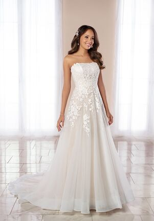 Stella York 6990 A-Line Wedding Dress