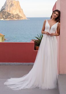 WHITE ONE MERRYBELLS Ball Gown Wedding Dress