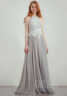 CocoMelody Bridesmaid Dresses CB0241 Halter Bridesmaid Dress