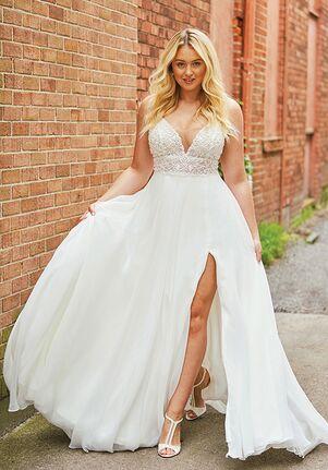 Justin Alexander 88035 A-Line Wedding Dress