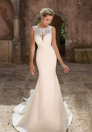 Justin Alexander 88045 Sheath Wedding Dress