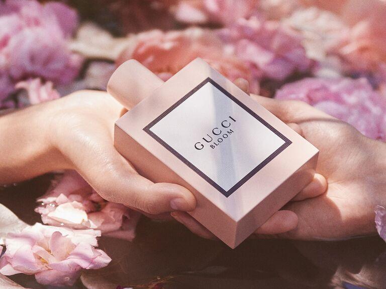 Wedding perfume gift for bride