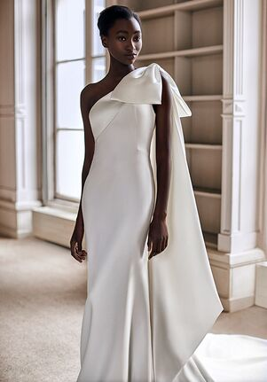 Viktor&Rolf Mariage ONE SHOULDER BOW FIT AND FLARE Mermaid Wedding Dress