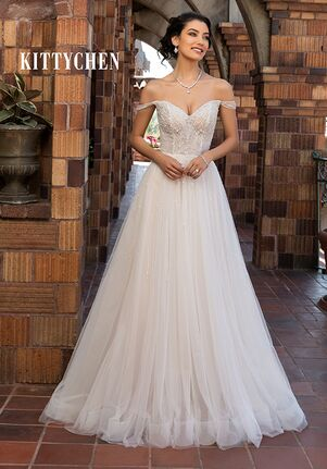 KITTYCHEN AMIA, H2070 A-Line Wedding Dress